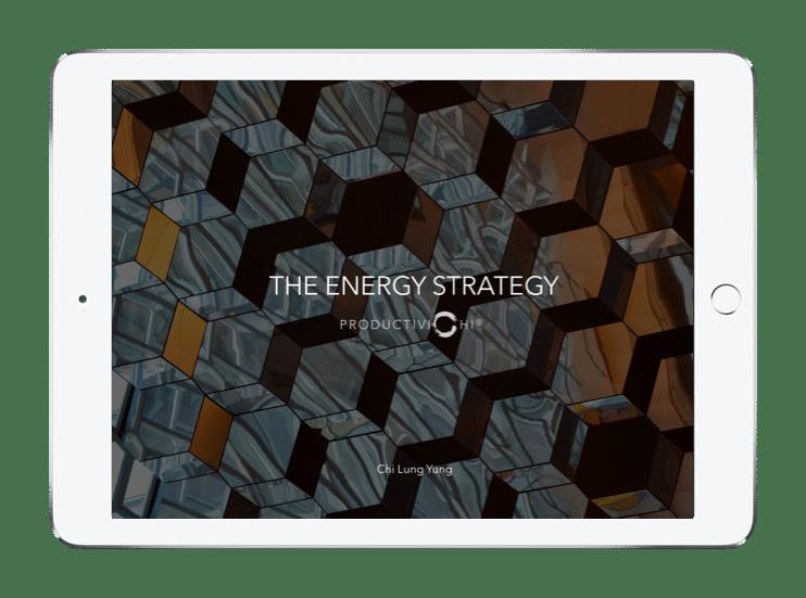 The Energy Strategy Blueprint